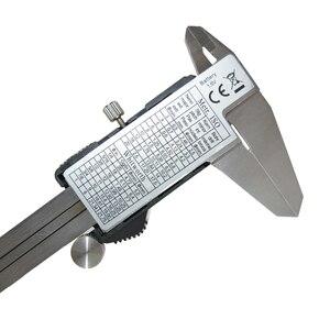 Image 4 - Outil de mesure de la profondeur des étrier métalliques, micromètre électronique à vernier numérique 150mm 6 à écran LCD