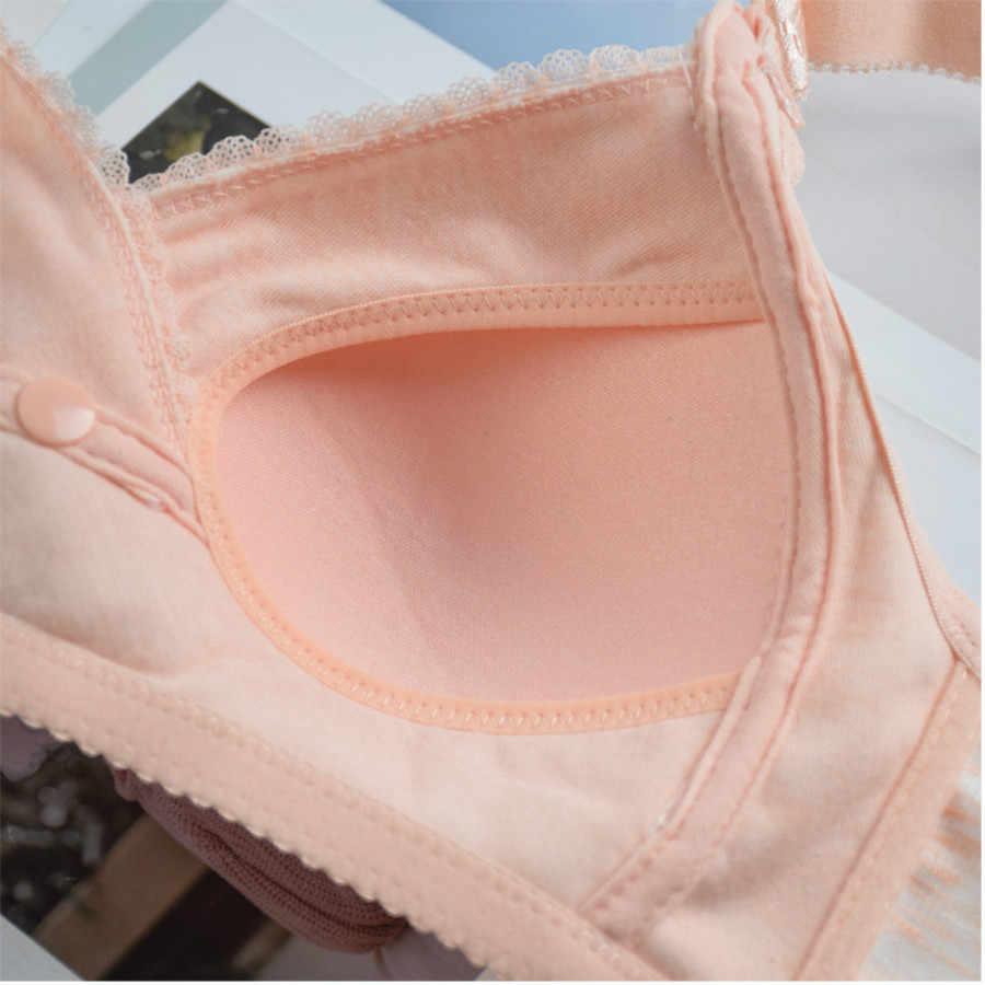 Sujetador de maternidad para alimentación en el embarazo Sujetador de lactancia materna ropa interior para mujeres embarazadas