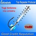 13dbi Antena Yagi 1710-2170 MHz Potenciadores de la Señal de Antena Externa para Los Teléfonos Móviles de Teléfonos Celulares Amplificador de Refuerzo Repetidor de Señal