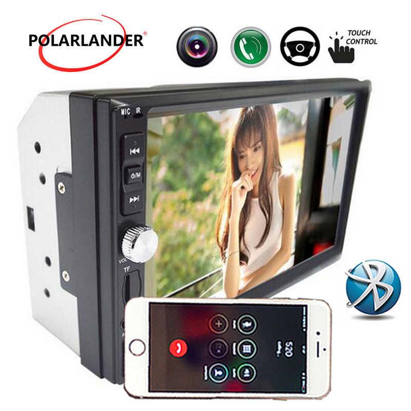 1080 1080p 車 MP5 プレーヤーサポートリアカメラカーラジオの Bluetooth タッチスクリーンオーディオステレオ FM Bluetooth USB ミラーリンクの Andriod