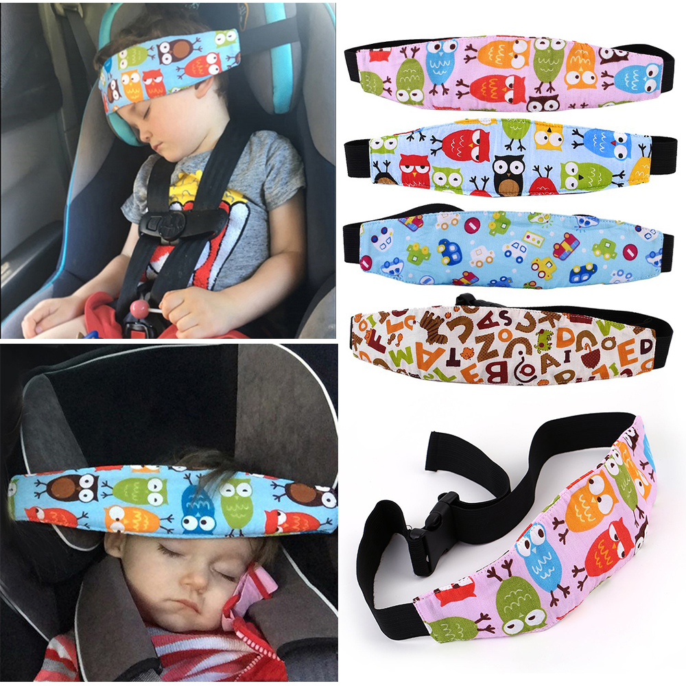 Doze-Band Belt Safety-Seat Secure-Strap Auxiliary Fixing Baby Cotton Child For New