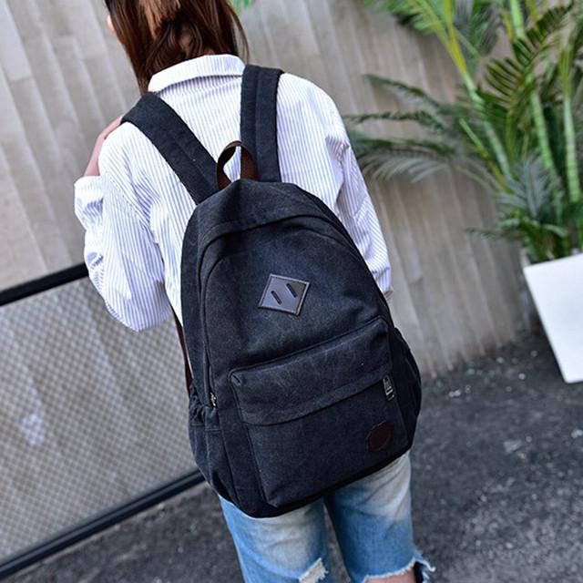 OCARDIAN Canvas Backpack