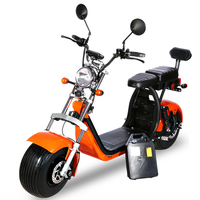 Adult electric motorcycle 1500w electric bike 60v12A citycoco lithium battery CE ECE certification electric motorcycles
