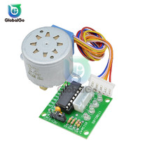цена на 1set Smart Electronics 28BYJ-48 12V 4 Phase DC Gear Stepper Motor + ULN2003 Driver Board for Arduino DIY Kit