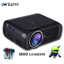 Atco bl80 1800 lumen portátil mini full hd 1080 p tv led 3d projetor wi-fi android smart home theater beamer proyector everycom(China (Mainland))