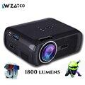 Atco bl80 1800 lúmenes mini proyector full hd 1080 p tv led 3d proyector android wifi proyector de cine en casa inteligente proyector everycom
