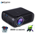 Atco bl80 1800 lumen portátil mini full hd 1080 p tv led 3d projetor wi-fi android smart home theater beamer proyector everycom
