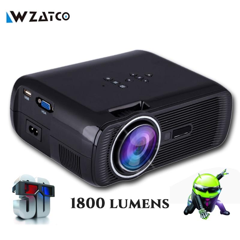 Aliexpress Com Buy Projector Mini Home Theater: Aliexpress.com : Buy WZATCO CTL80 Portable Digital Mini