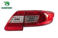 KUNFINE пара автомобиля задний блок освещения для TOYOTA COROLLA 2011 2012 2013 светодиодный стоп с поворотом световой сигнал