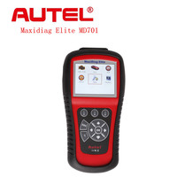 Best Autel Maxidiag Elite MD701 Code Scanner With Data Stream Function for 4 System Update Internet Autel Maxidiag Elite MD701