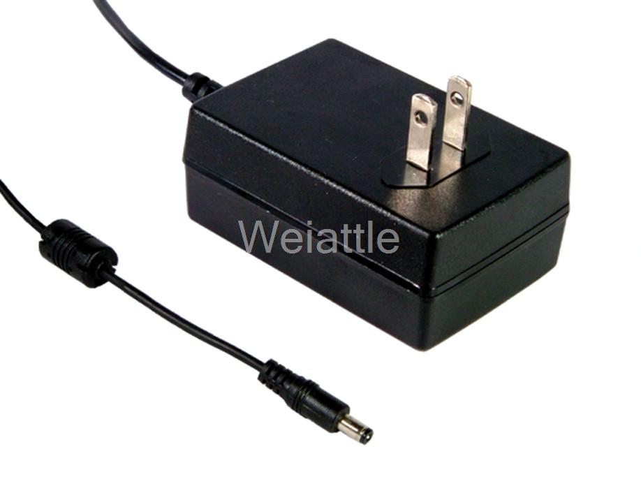 MEAN WELL original GSM18U15-P1J 15V 1.2A meanwell GSM18U 15V 18W AC-DC High Reliability Medical Adaptor best selling mean well gst60a15 p1j 15v 4a meanwell gst60a 15v 60w ac dc high reliability industrial adaptor