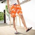 Горячая Новая Мода мужская Повседневная Отдохнуть Летом Короткие Животных Напечатаны Палевый Шорты Пляж Летняя Одежда пляж Мужчины Шорты мужские