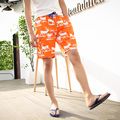 Hot New Fashion Men's Casual Relax Summer Short Animal Printed Fawn Shorts Beach Summer  Clothing beach Men Shorts Male