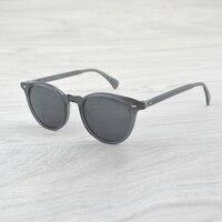Fashion Round sunglasses Delray Sun Glasses Vintage Male Female OV5318 Oval Sunglasses Brand Designer Men Women