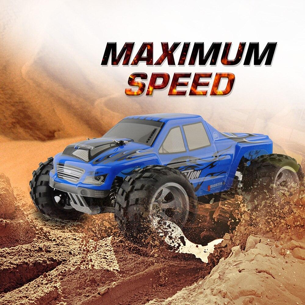 Wltoys A979 voiture de course Rc 1/18 2.4GHz 4WD radiocommandé haute vitesse 50 km/h monstre télécommande voitures Machine jouets grande vente