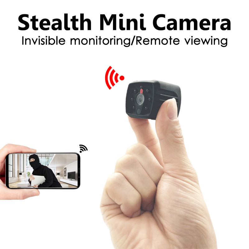 Invisible Night Version 1080P Wifi Mini Camera Wireless for Motion Detectiom Video Recording Remote Surveillance hidden TFcard invisible night version wifi ip mini camera wireless 1080p for video recording support remote control portable recorder pk q7