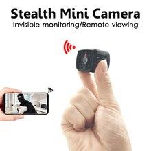 Invisible Night Version 1080P Wifi Mini Camera Wireless for Motion Detectiom Video Recording Remote Surveillance hidden TFcard