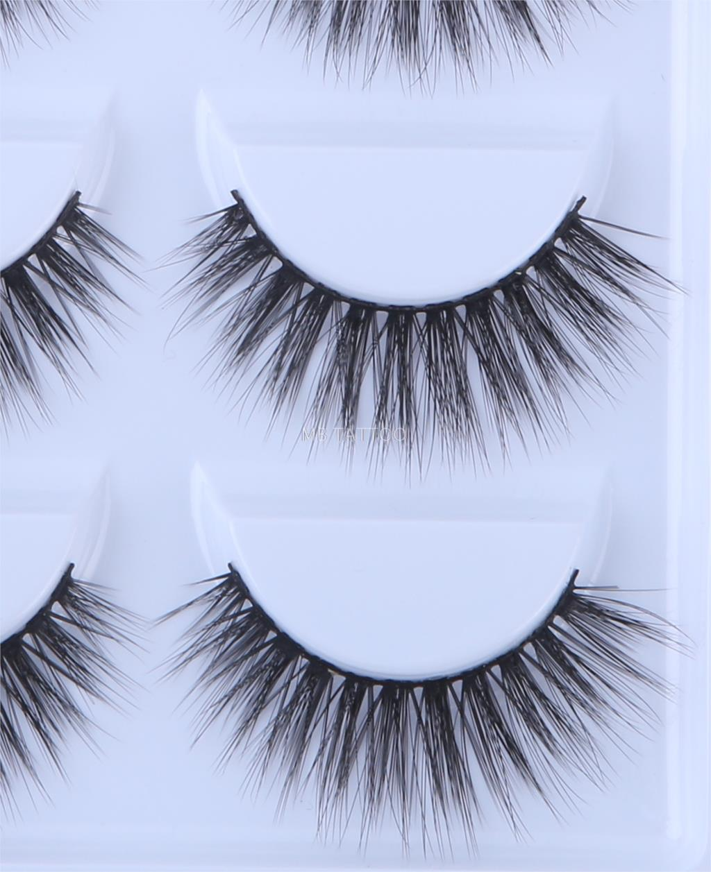 HTB16.gHQ6DpK1RjSZFrq6y78VXal New 3D 5 Pairs Mink Eyelashes extension make up natural Long false eyelashes fake eye Lashes mink Makeup wholesale Lashes