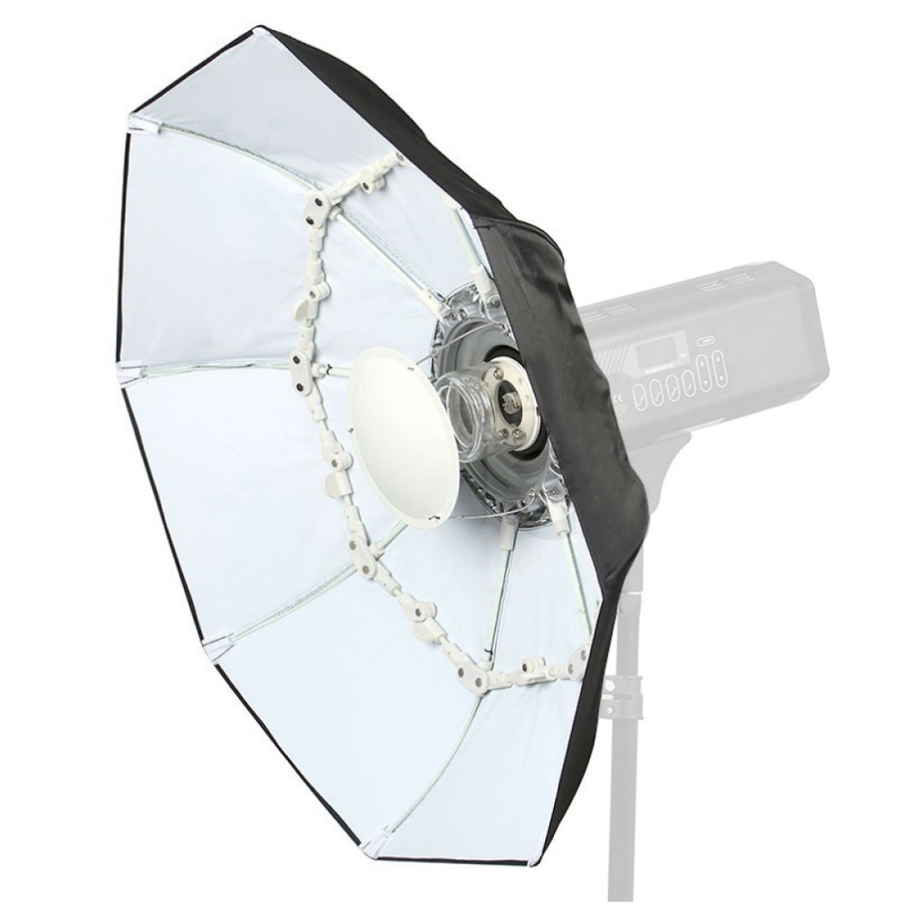 70cm Silver / White Foldable Collapsible Beauty Dish Softbox Umbrella Bowens Mount for Studio Lighting Speedlight Flash Strobe high quality foldable 70cm photo studio beauty dish speedlite octabox softbox inner sliver or diffuser
