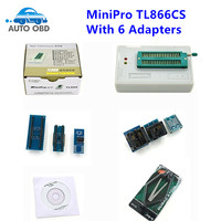 MiniPro TL866 Universal Programmer TL866CS Willem Bios Programmer Support About 13000 Chips IC With 6 Adapters