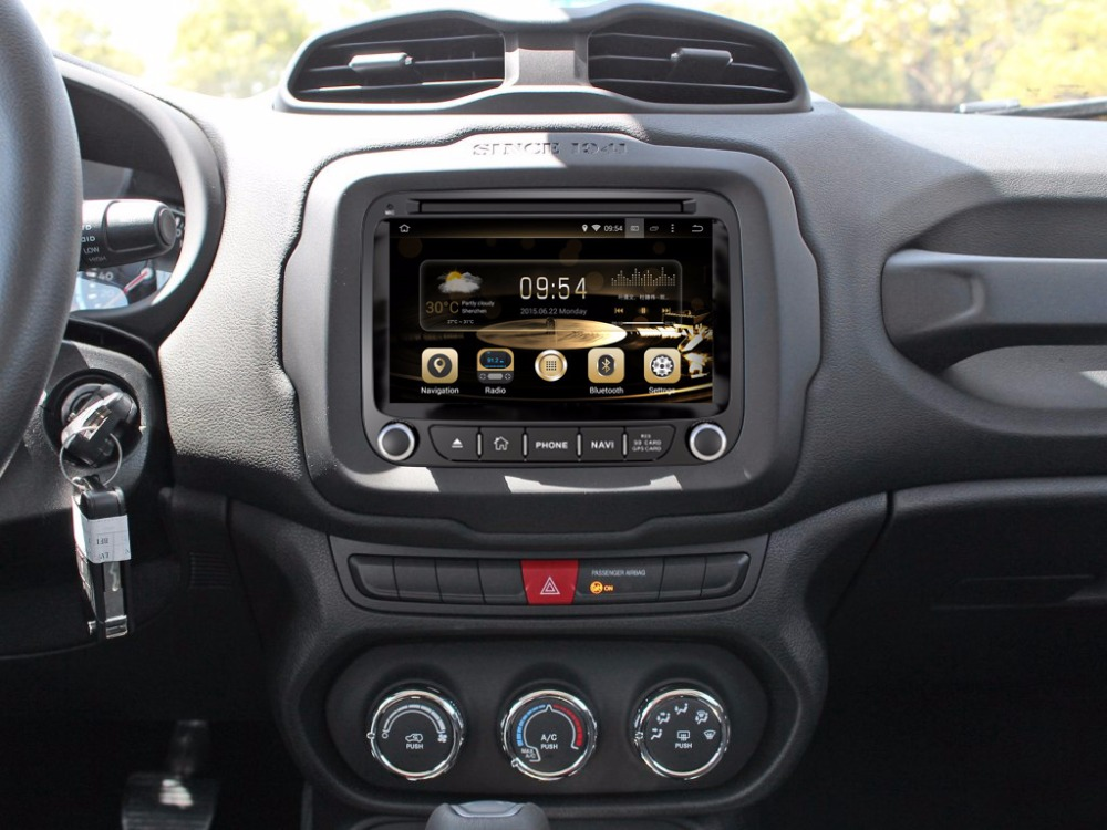 7 4G LTE Android 8.0 ! ROM32G octa core car multimedia DVD player Radio GPS FOR JEEP Renegade 2015 2016 2017 2018 3G WIFI OBD