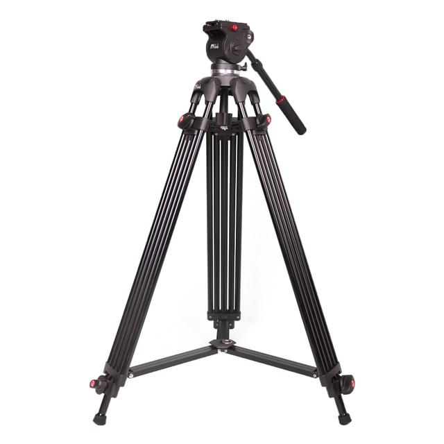 JIEYANG tripod JY0606 1.8 m Aluminum Professional Tripod for camera stand / DSLR video tripods / Fluid Head Damping