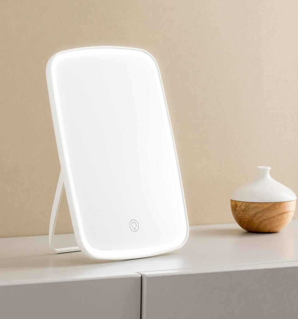Xiaomi Mijia LED makeup mirror Touch-sensitive control LED natural light fill adjustable angle Brightness lights long battery li (9)