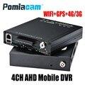 HDVR9804 Neue 4CH AHD HDD Mobile DVR 4G WIFI GPS Mobile HDD video recorder für taxi auto bus unterstützung 1080 p/720 p AHD Analog Kameras|Überwachungsvideorekorder|Sicherheit und Schutz -