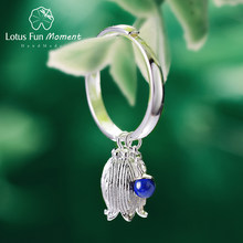 Lotus สนุก Moment Real 925 Sterling Silver Vintage แหวนแฟชั่น(China)