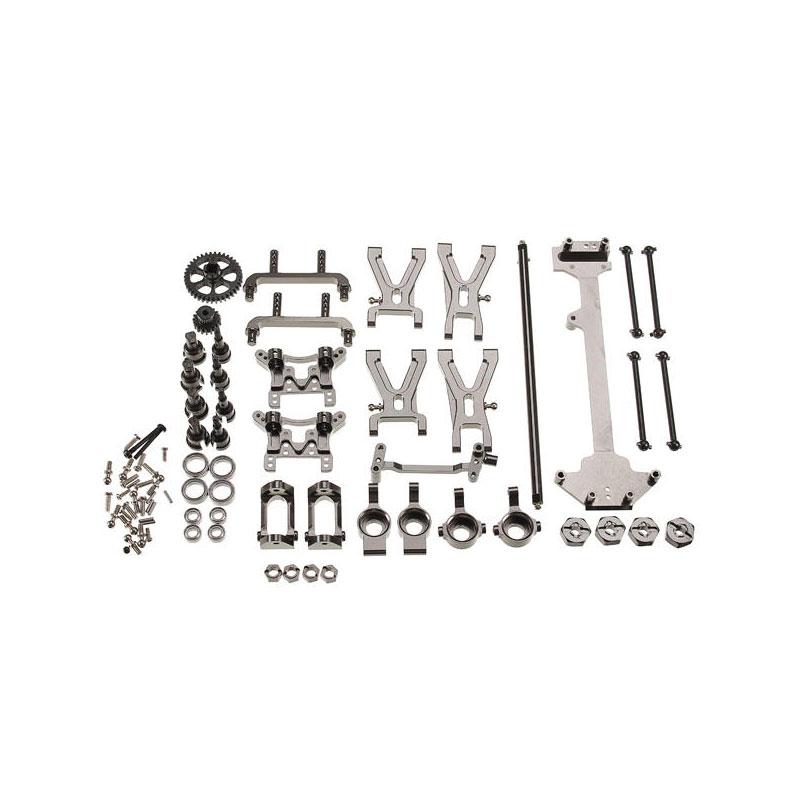 Titanium Upgrade Metal Parts Kit for WLtoys A959 A979 A959B A979B 1 18 RC Car Parts