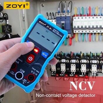 ZOYI ZT-S1 Digital Multimeter Auto Range True rms Mmultimetro automotriz mit NCV DATEN HALTEN lcd-hintergrundbeleuchtung display