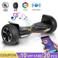 8.5 Inch Electric Scooters Hoverboard Smart Electric Skateboard Self Balance Scooter Bluetooth Speaker LED Hover Board Oxboard
