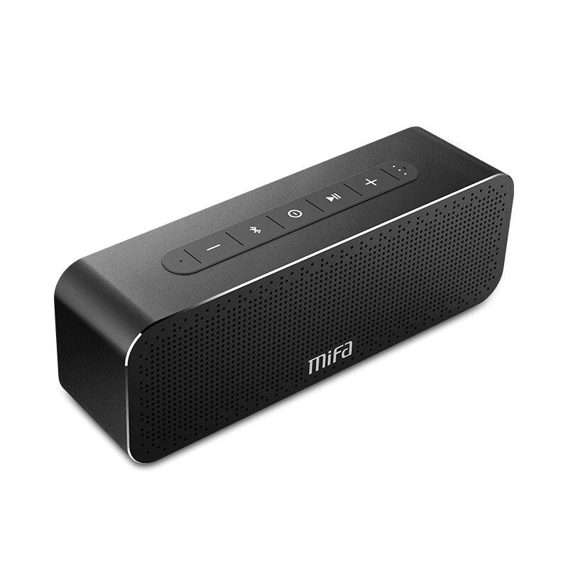 MIFA A20 sans fil Portable en métal Bluetooth haut-parleur avec mains libres TWS MIC étanche haut-parleur extérieur 30 W puissance avec haut-parleur de basse