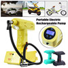 1Pcs Wireless Portable Electric 12V Cordless Rechargeable Car Bike Air Pump Compressor Tire Inflator High Quality