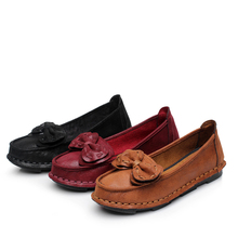 Women Flats Shoes New Chinese Apron Pregnant Hand Made Embroidered Elegant Slip On the Shoe for