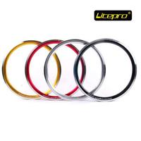 Litepro kpro 18 inch Folding Bike Rims High Quality 355 BMX Bicycle Wheel for Birdy Tikit 18'' 16 20 24 28 32 Holes
