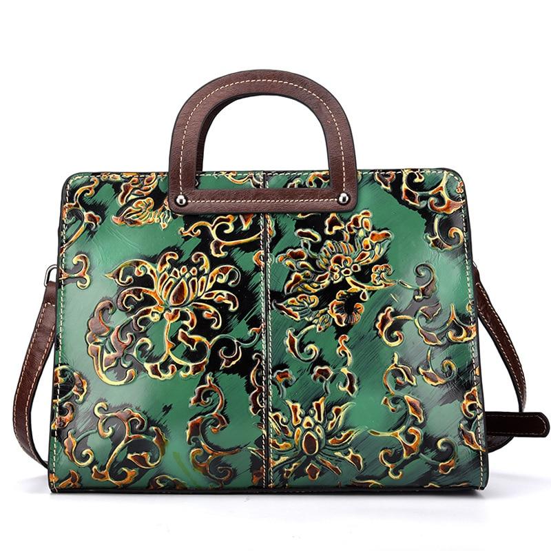 цена 2018 New Real Cow Leather Ladies HandBags Women Genuine Leather bags Totes Messenger Bags Hign Quality Designer Luxury Brand Bag онлайн в 2017 году