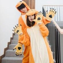 Милые Charmander Pokemon Косплей Костюм фланель с капюшоном взрослых карнавал, Хэллоуин, Рождество Косплей пижамы