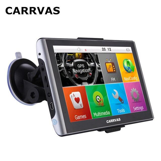 CARRVAS 7 inch Capacitive Screen car GPS navigation 800Mhz Sat Nav on sat cartoon, sat prep book, sat score chart 2014,