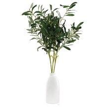 HOYVJOY Artificial flower Olive branch Table decoration Room decoration цена