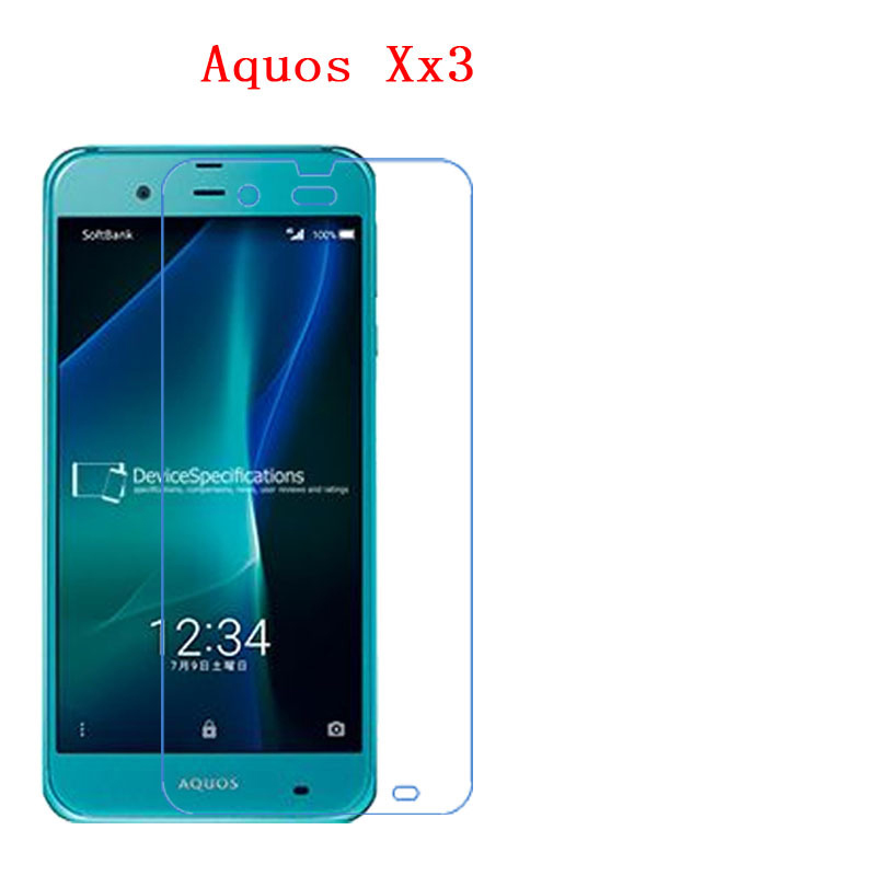 US $2 68 10% OFF|(2 Pack) For sharp Aquos Xx3 shv34 sh 04h 506SH Carbon  Fiber 9H Plexiglass Screen Protector-in Screen Protectors from Consumer