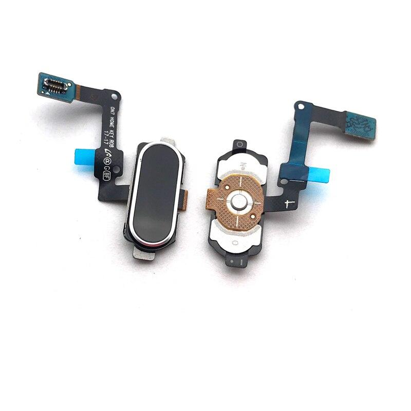 Fingerprint Sensor Home Return Key Menu Button Flex Ribbon For Samsung Galaxy J7 Prime/ On7 (2016)/ J5 Prime/ On5 (2016) G570