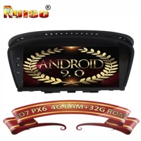 ID7 Android 9.0 FOR BMW 5 Series E60 E61 E63 E64 3 Series E90 E91 E92 Car DVD player gps audio car monitor stereo all in one