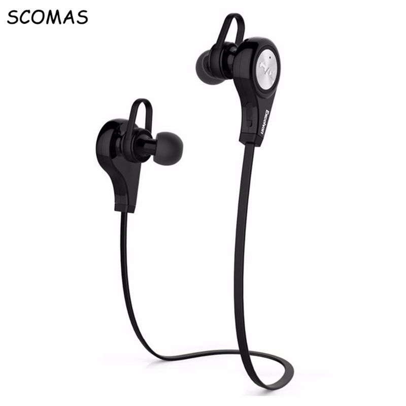 SCOMAS Bluetooth Wireless In-Ear Headphones Head phone Earphone headset with microphone Bass sound noice reduction BT Earbuds bluetooth headset stereo sound wireless bluetooth earphone bass sport in ear headphones headband handsfree for iphone pc