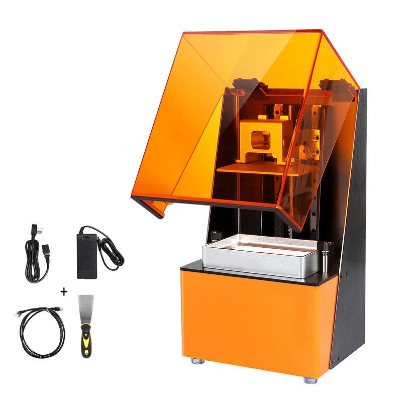 Imprimante 3D SLA/LCD UV Cure de lumière trancheuse Double Guide linéaire vitesse 12-36 mm/h taille d'impression 120*68*150mm pour l'éducation Art médical