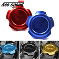 Ace speed--STI Aluminum Racing Oil Cap For Subaru Oil Fuel Filter Racing Engine Tank Cap Cover 6 kind of colors