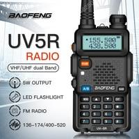 baofeng uv 5r uv Baofeng UV-5R מכשיר הקשר מקצועי CB רדיו 5W UV הלהקה כפול שני רדיו דרך מכשיר הקשר במוסקבה ציד Ham Radio (5)