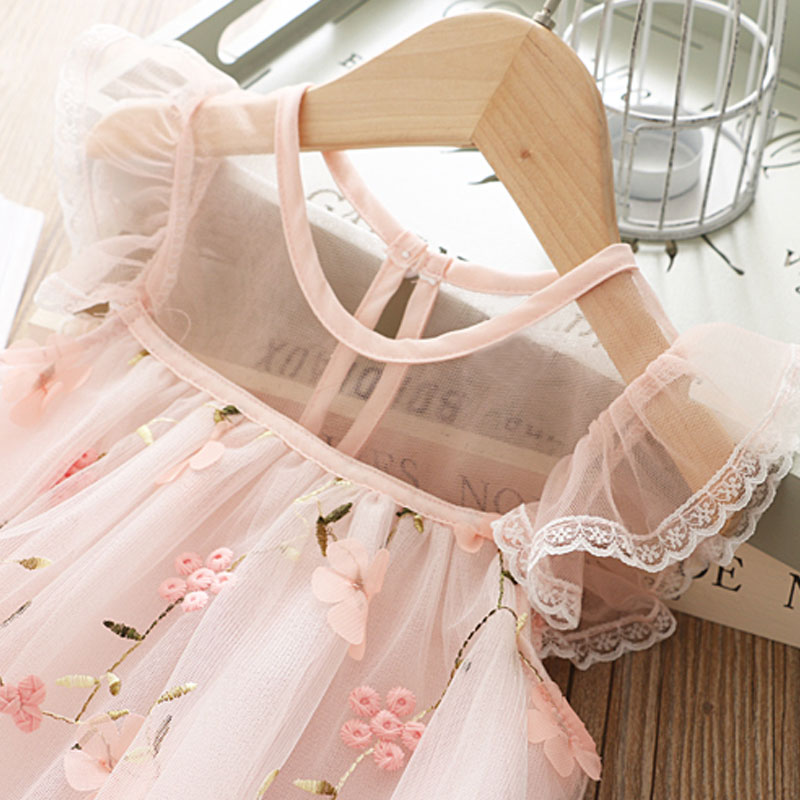 HTB16.l0RY2pK1RjSZFsq6yNlXXap Cute Girls Dress 2019 New Summer Girls Clothes Flower Princess Dress Children Summer Clothes Baby Girls Dress Casual Wear 3 8Y