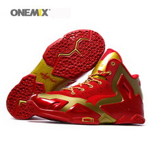 2016 Onemix new arrival mens basketball shoes cheap athletic sport sneakers antislip basketall boots free shipping US7-US12