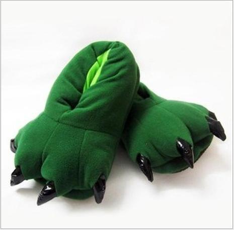 Adult Dinosaur Slippers